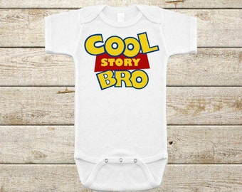 Cool Story Bro Onesie, New Baby Gift, Baby Boy Clothing