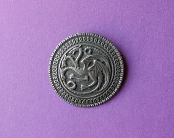 House Targaryen game of thrones brooch