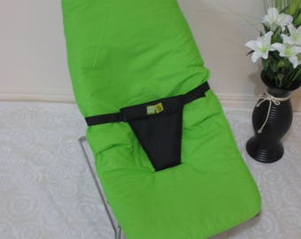 Vee bee serenity mesh baby bouncer cover-Lime Green.