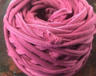 DISCOUNT T-Shirt Yarn (5m-31m), Spaghetti Yarn, Cotton Yarn, Bulky Yarn, Craft Material, Thick Yarn, Fabric Yarn, Macrame Yarn, Rug Yarn,