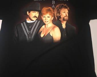 Awesome Brooks & Dunn Reba Tour 98 T Shirt