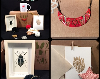 Big christmas box / By Les Filles d'Alfred