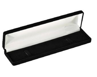 Velour Bracelet Jewelry Box (Wholesale pricing available)