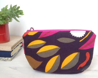 Small clutch bag-make up bag Cosmetic bag cosmetic make up bag
