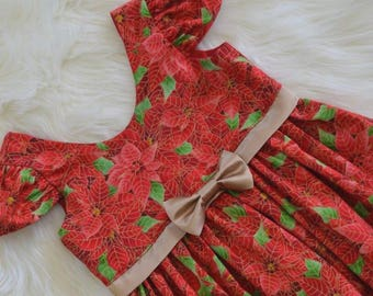 Traditional Red Christmas dress