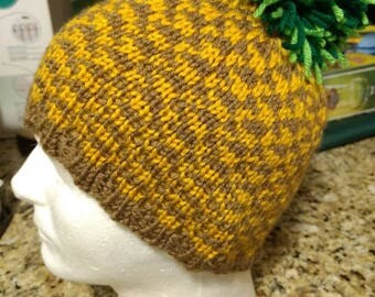 Knitted Pineapple Hat