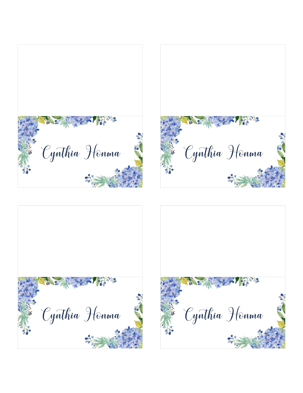 wedding name tags templates