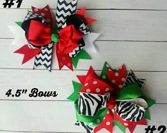 READY TO SHIP |Christmas Hair Bows | Christmas Hairbows | Christmas Headbands | Christmas Headband | Holiday Bows | Holiday Headbands | Bows