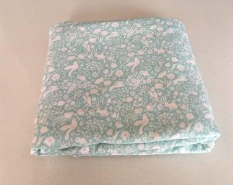 My favorite blanket Baby Blanket - soft spring child blanket