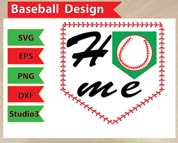 Download Baseball SVG baseball clip art svg file for cricut Baseball