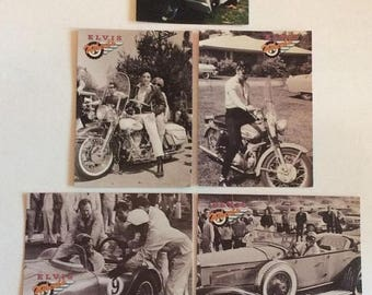 CANADA 150 SALE Lot of 6 The River Group Elvis Presley Collection trading cards. Elvis Wheels series. MINT Condition. Elvis Collection Wheel