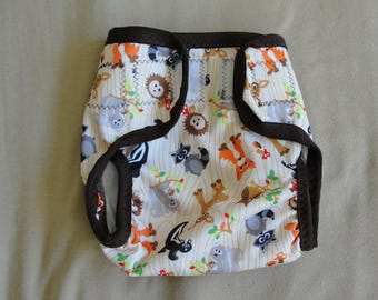 Adult Gusset Velcro Diaper Cover