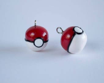 Polymer Clay Pokeball
