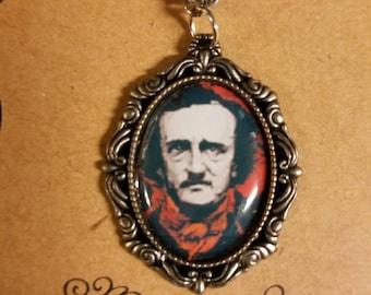 Edgar Allan Poe themed Necklace