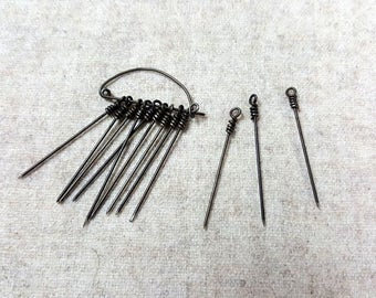 12 Iron Pins, Renaissance Fair, Reenactment, LARP