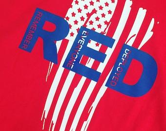 Remember everyone deployed RED tshirt