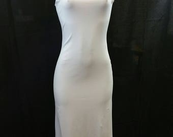 Scoop Neck Dress with Deep V-Neck in the back