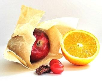 Reusable Beeswax Wrap - Hostess Gift - Set of 5 Wraps - Food Safe - Zero Waste - Reusable Beeswax Wax Wrap - Eco Friendly - Compostable