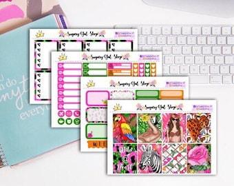 Jungle Diva Sticker Kit