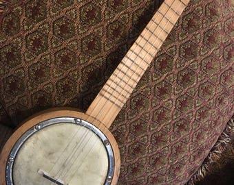 1920s Schoenhut Libery Bell Banjo Ukulele