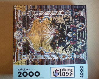 Springbok 2000 Piece Puzzle - Glorious Glass