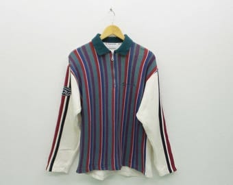 Sergio Tacchini Sweatshirt VINTAGE Sergio Tacchini Sweater Made In Italy Men's Size S