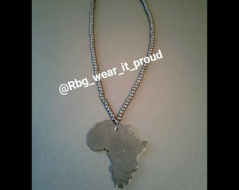 Black Africa Beaded Necklace