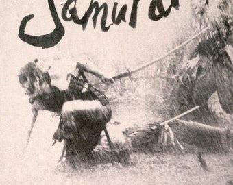 Summer Sale SEVEN SAMURAI Movie POSTER Rare Kurosawa Samurai Japanese