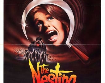 Back to School Sale: The Nesting 1981 Horror Movie POSTER