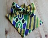 Mens Bow Ties- Bow Ties For Men- Mens Bow Tie- Mens Ties in Sets- Bow Tie Set- African Tie- Mens Tie Set- African Men Clothing