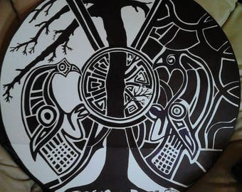 Custom Designed Shield design-Dave Taylor