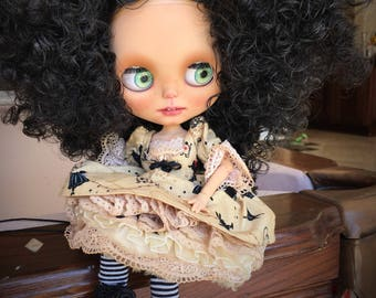 "OOAK Blythe Doll Little ""Sasha"" custom blythe"