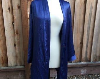 Vintage Blue Victoria's Secret Robe