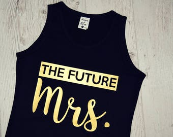 The Mrs Tank Tops, The Mrs Tank, Mrs Tanks, Wifey Shirt, Wife Top, The Mrs Tank Top, Wifey Shirts, WIFEY Tank top, Wife Top Tank, Bride Tank
