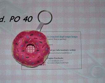 Keyring Donut Homer Simpson