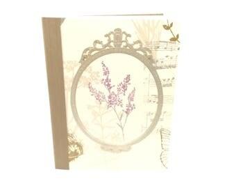 Romantic notebook - diary-