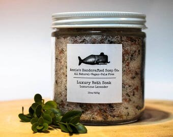 Luxury Bath Salts-Luxurious Lavender