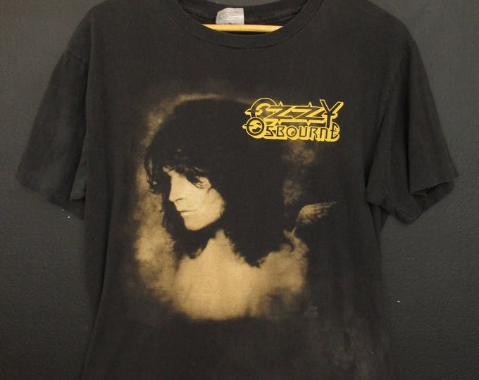 Ozzy Osbourne 1992 Theatre of Madness Sold Out Tour Vintage Tshirt
