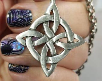 Celtic Knot Pendant Necklace