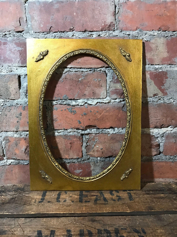 oval mount frame set 12 x 16 16 x 20 gold frames oval frames oval mounts ornate. Black Bedroom Furniture Sets. Home Design Ideas