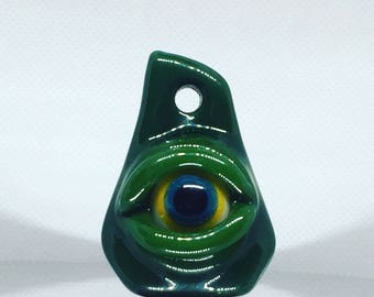 Glass Eyeball companion pendant