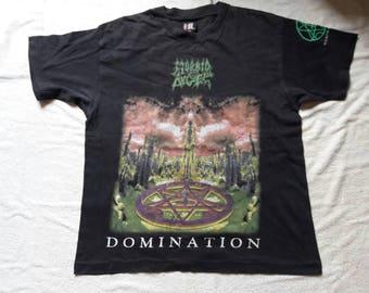 Rare Vintage 1990s Morbid Angel T Shirt. 1995