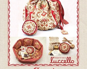 RETICULE Pincushion Quilt Pattern By French General FG RI05