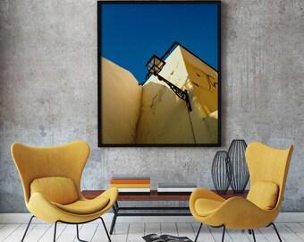 "Lisbon Photography, ""Always Blue"" Print Wall Art Decor Gift Apartment Art Travel"