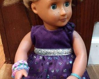 Bracelet Set for 18-inch Doll