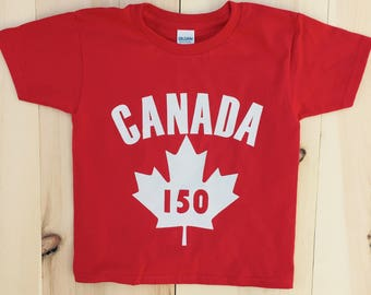 Canada 150 Baby, toddler, child, youth, adult,  celebrate, tee, t shirt shop