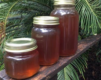 100% Pure Organic Raw Fresh Florida Honey