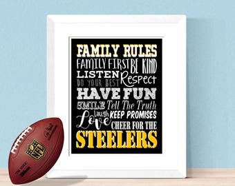 Steelers decor | Etsy