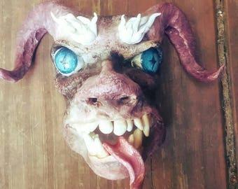 Demon Devil Doll Face DIY Doll