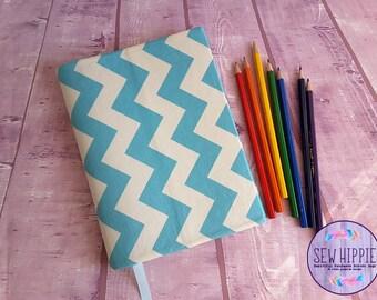 Teacher Gift, Writers Gift, Journal Notebook Cover, Refillable Journal, A5 Notebook Cover, Book Lover Gift, Writing Journal, Vegan Journal